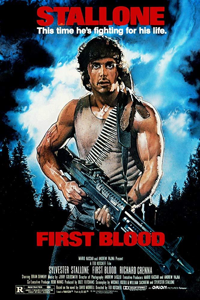 """""""Rambo"""" è uno dei film d'azione definitivi (T. Kotcheff, 1982)"""