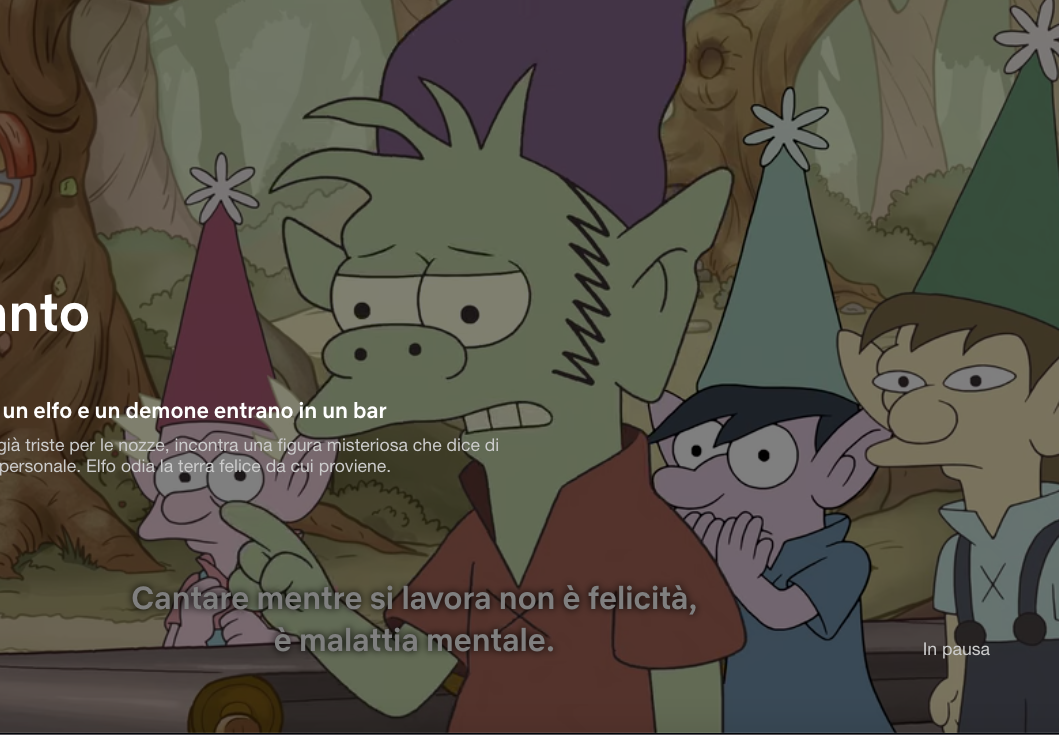 Disicanto di Groening è una serie interessante. Ma con la serialità sarebbe ora di smetterla
