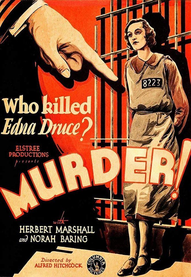 """""""Omicidio!"""" di Hitchcock anticipa molte cose dei thriller moderni. Nel 1930"""