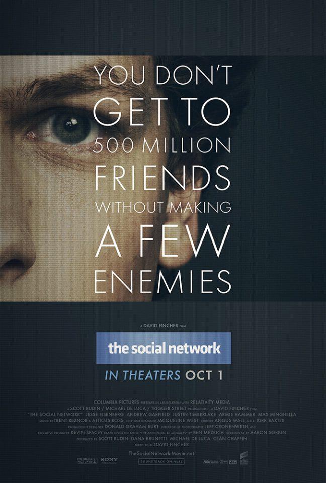 The Social Network (D. Fincher, 2010)