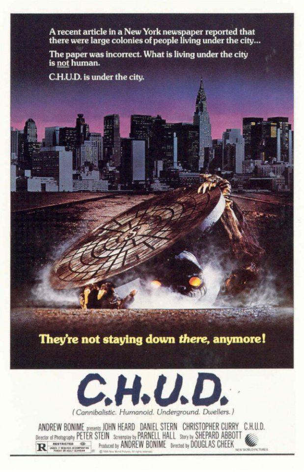 "Orrore nelle fognature: ""C.H.U.D."" di Douglas Cheek"